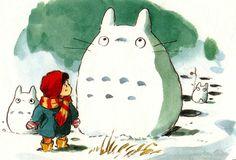 Totoro Christmas Wallpaper