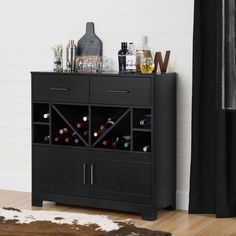 South Shore Vietti Bar Cabinet U0026 Reviews | Wayfair