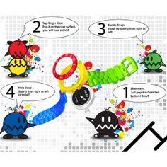 Reloj de colores desmontable... para que puedas hacer las combinaciones que te apetezcan. Por solo 39 euros cada uno.