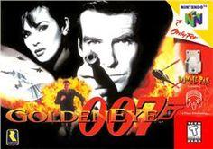 007: Golden Eye (1997, Nintendo 64) *love it!