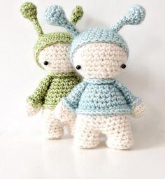 crocheted elfs