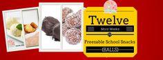 Twelve More Weeks of Freezable School Snacks | Stay at Home Mum