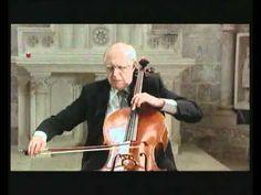 J.S. Bach Cello Suite No 5 C minor BWV 1011   Rostropovich 4 Sarabande