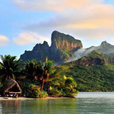 Isola di Bora Bora, French Polinesia