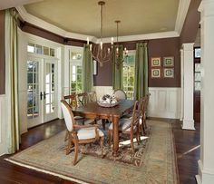 Homey Transitional Dining Room By Lorraine Vale On HomePortfolio