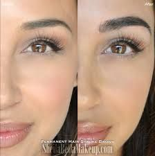 Microblading Brows : Sheila Bella Permanent Makeup and Microblading Goth Eyebrows, Megan Fox Eyebrows, Makeup Eyebrows, Eye Brows, Fibre Gel, Permanent Eyeliner, Eyeliner Styles, Natural Eyebrows, Eyebrow Tattoo