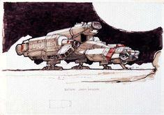 Spaceship Art, Spaceship Design, Arte Sci Fi, Sci Fi Art, Saga, Nostromo Alien, The Last Starfighter, Sci Fi Kunst, Alien 1979