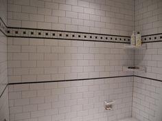 use hex floor tile as border finally a 1930u0027s bathroom