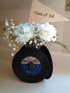 centerpiece for 50th grade school reunion