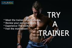 Are you hunting for a health club which caters to an individual need? Then TRY-A-TRAINER program is for you. Grab it!  iLiveFit LIVEFIT! JOINTHEFITREVOLUTION! #ClubFit247 #Training #PersonalTraining #Gym #Jericho #NY #CoreTraining #PersonalTrainer