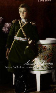 Tsarevich Alexei Nikolaevich Romanov. Tsarevich Alexei by ~VelkokneznaMaria on deviantART