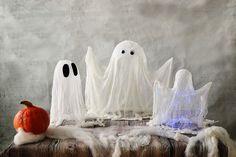 Halloween ghosts easy photo tutorial
