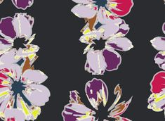 #florals #fashion #textiledesign available for purchase from #OMLabel #patternbank www.patternbank.com/OMLabel
