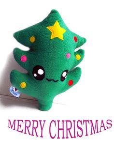Fluse Kawaii Plush Christmas Tree von Fluse123 auf Etsy
