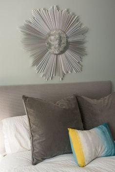 DIY Room Decor: How To Make a Starburst Mirror