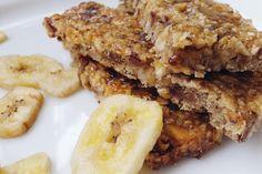 Banane-Dattel-Müsliriegel