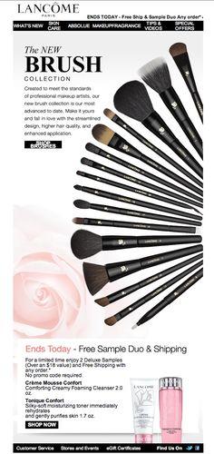 Brush - Makeup brush and Make up accessories by Lancome - http://urbanangelza.com/2015/11/01/brush-makeup-brush-and-make-up-accessories-by-lancome/?Urban+Angels  http://www.urbanangelza.com