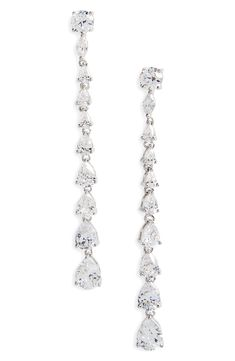 Nightlife By Harry Winston Short Drop Diamond Earrings