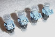 John Cooper Works 380cc Fuel Injectors.  If you have an 02-06 R52 or R53 MINI Cooper S and want an injector upgrade here is what you need. These are the Original 380cc injectors from the John Cooper Works cars.  They are some of the best injectors available and most reliable.  An easy way to up your performance and improve throttle responce.  In 2005 these came standard with the JCW engine tuning kit, so JCW felt you needed more fuel, not a bad idea for a pullied MINI.  Also if you have…