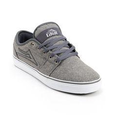 Lakai Judo Grey Wool Skate Shoe