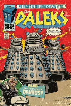 Doctor Who (The Daleks Comic) Poster – Merchandise Guide ...