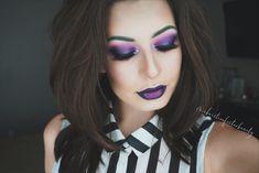 Halloween makeup look: Beetlejuice! Details on my Instagram: @christinefosterbeauty
