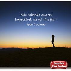 #Motivacao #TapetesSaoCarlos