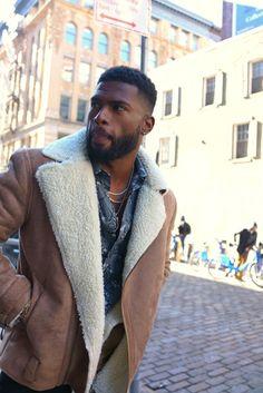 13 Best Caesar Haircut Ideas for Guys in 2019 - Style My Hairs Black Man, Fine Black Men, Gorgeous Black Men, Handsome Black Men, Fine Men, Beautiful Men, Men Looks, Broderick Hunter, Black Men Haircuts