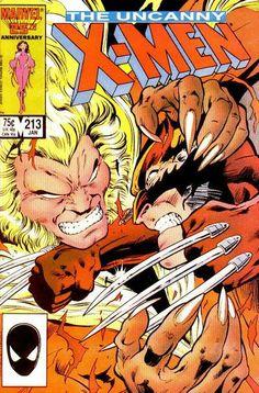 The Uncanny X-Men (1963) No. 213 #wolverine