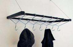 Coat hanger coat hook.