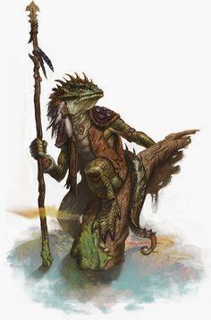 Snapjaw the Lizard Man