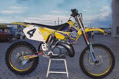 1998 Factory Suzuki RM250 of Larry Ward | Flickr - Photo Sharing!