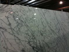 Marble top for vanity, Kelly Wearstler would approve!