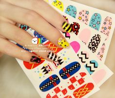 Aliexpress.com : Buy 2013 New Ultra thin series nail art ,fashion nail sticker,Korean MIX&MATCH Decal,6 pcs,free  shipping from Reliable acrylic nail art suppliers on Jessie's shop. $8.68