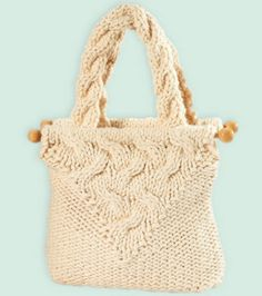 Cable Knit Purse at Joann.com