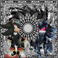 Shadow vs Mephiles | Shadow vs Mephiles Picture #129548912 | Blingee.com