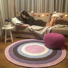 Diy Crafts - -Best Material For Carpet Runners CarpetRunnersForStairs Crochet Rug Patterns, Crochet Basket Pattern, Yellow Carpet, Beige Carpet, Hallway Carpet Runners, Cheap Carpet Runners, Money Belt, Painting Carpet, Crochet Carpet
