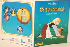 Cinderella Storybook Sticker Book (I remember seeing this with my grandpa, and I had this Panini sticker book)