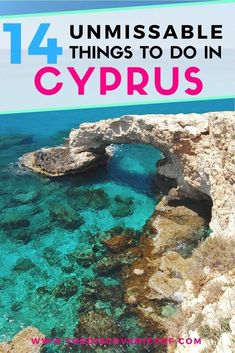 Looking for things to do in Cyprus? We've picked 14 unmissable activities for you to try when you travel to Cyprus. From exploring beaches, or towns like Paphos, Larnaca, Limassol and Nicosia to the birthplace of Aphrodite and partying in Ayia Napia. Read now #travel #cyprus #europe