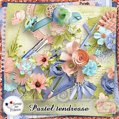 Pastel Tendresse by Scrap'Angie http://scrapfromfrance.fr/shop/index.php?main_page=product_info&cPath=88_240&products_id=7090