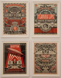 obey concert posters