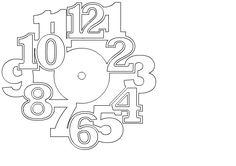 Часы Home Inspiration bollywood inspired home decor Silver Wall Clock, Led Wall Clock, Clock Art, Best Shoe Rack, Stencil, Christmas Clock, Handmade Wall Clocks, Laser Cutter Projects, Wall Clock Design