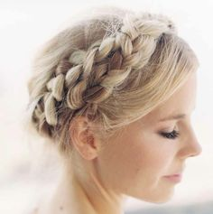 bohemian hairstyles wedding - Google Search