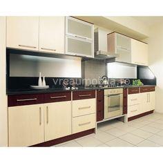 Mobila bucatarie Vega Kitchen Cabinets, Interior Design, Austria, Kitchens, House, Hair, Home Decor, Beauty, Dining Room