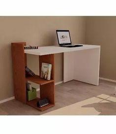 escritorio minimalista moderno * melamina * topehogar