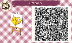 Animal Crossing QR-Codes Pokemon | Animal Crossing: New Leaf QR Codes with 3DS