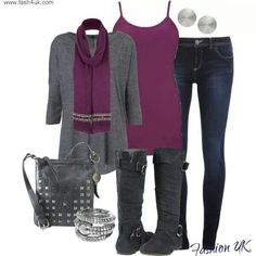 Purple and a little punk ;)