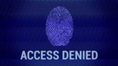 Access Denied Fingerprint