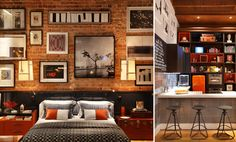 I Absolutely Love Brick Walls Inside The Home. Design Ideas For Adding Some  Rustic Charm To A Room By Using Exposed Brick Walls (image By Luiz Fernando  ...