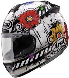 2014 Arai Vector-2 Women's Blossom Frost Motorcycle Street DOT Helmet